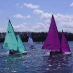 303 and 2.3 sailors in the Hansa Grand Prix at Whitefriars. Photos © Chris Stout