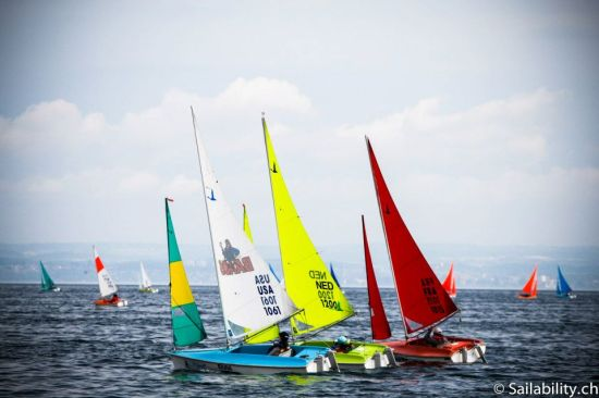 2013 European C'ships . © Sailabilitty.ch