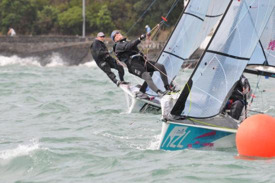 Sailed in Open two-person configuration at Sail Auckland - NZL