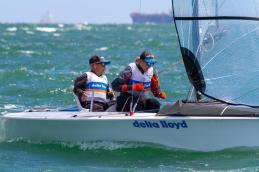 Sailing - Para World Sailing Championships 2015, Royal Yacht Club of Victoria, Williamstown (Aus). 2/12/2015. Photo: Teri Dodds.