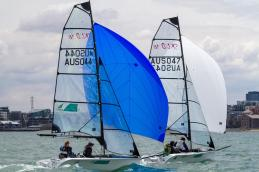 Sailing - Para World Sailing Championships 2015, Royal Yacht Club of Victoria, Williamstown (Aus). 29/11/2015. . Photo: Teri Dodds.